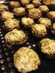 Savory Stuffed Mushrooms :)